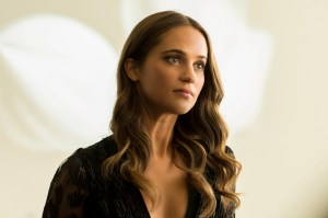 ALICIA VIKANDER stars in BURNT